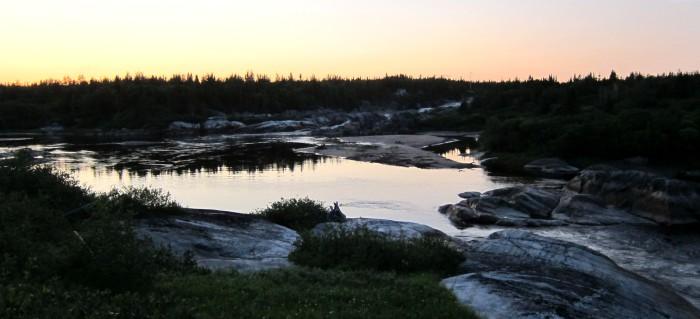 C'est elle la rivière au tonnerre!