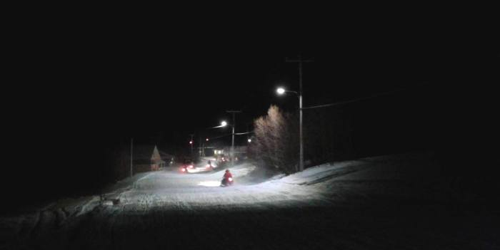 skidoo post hockey soir
